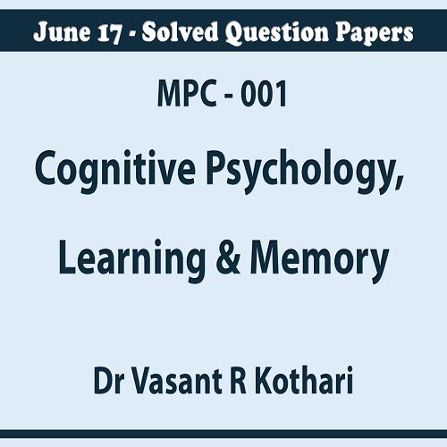 001CognitivePsychologyLearningMemory