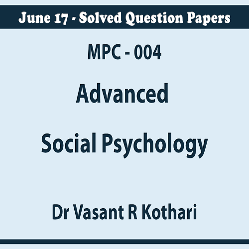 004AdvancedSocialPsychology
