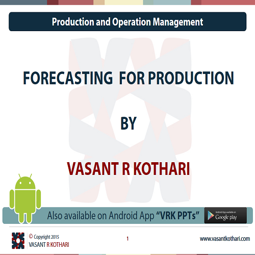 03ForecastingforProduction