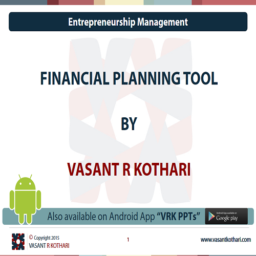 05FinancialPlanningTools