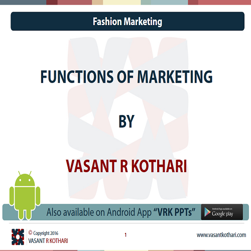 05FunctionsofMarketing