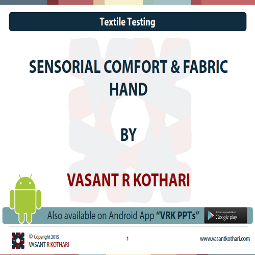 12SensorialComfortandFabricHand