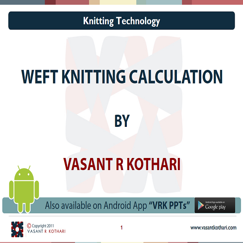 18WeftKnittingCalculation