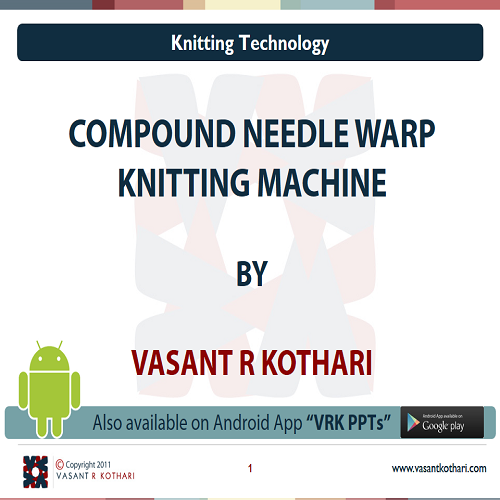 26CompoundNeedleWarpKnittingMachine