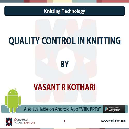 29QualityControlinKnitting
