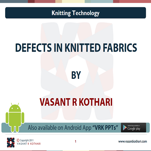 30DefectsinKnittedFabrics