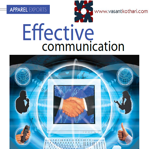 4ApparelExports-EffectiveCommunication