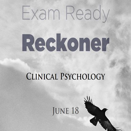 ExamReadyReckonerJune18ClinicalPsy