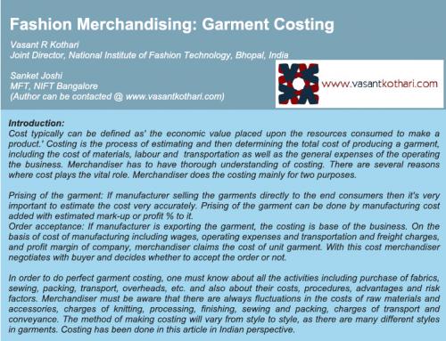 GarmentCosting