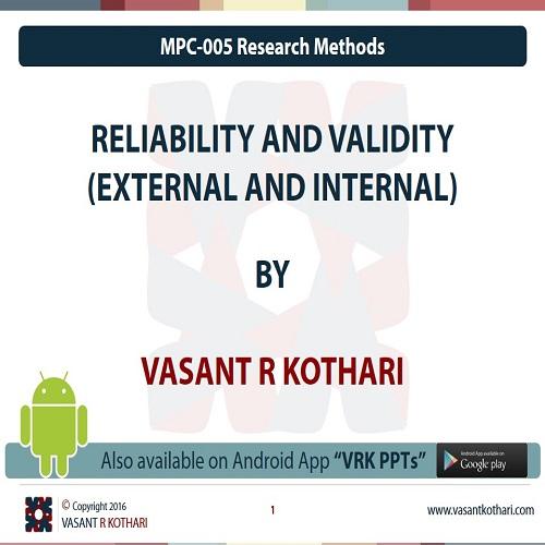 MPC-005-01-02ReliabilityandValidity