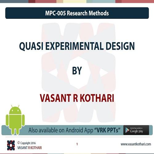 MPC-005-03-03QuasiExperimentalDesign