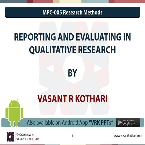 MPC-005-04-04ReportingandEvaluatinginQualitativeResearch