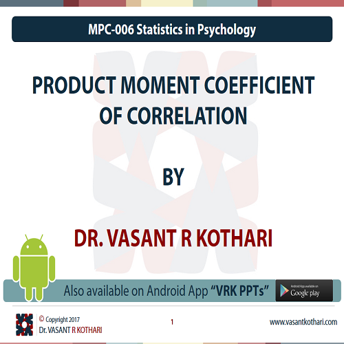 MPC-006-02-01PRODUCTMOMENTCOEFFICIENTOFCorrelation