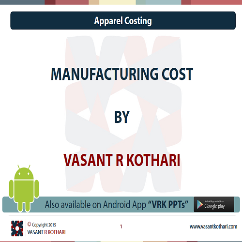 ManufacturingCost