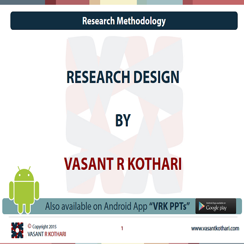 ResearchDesign