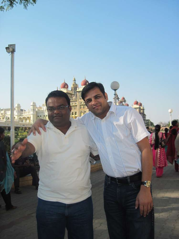 With Dr Sanjeev KM