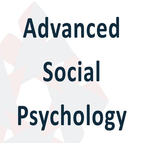 04 Advanced Social Psychology