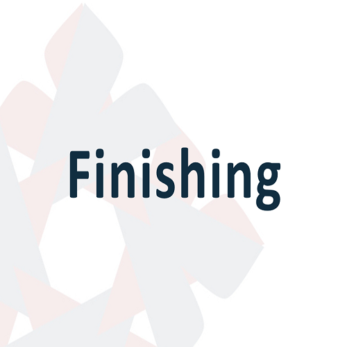 09 Finishing