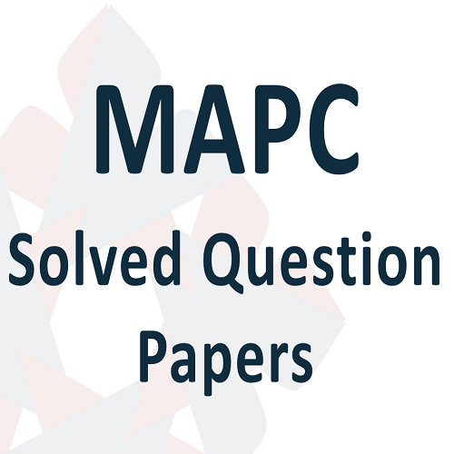 00 MAPC Solved Question Papers