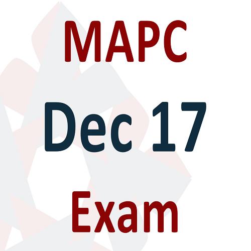 MAPC Dec 17 Exam